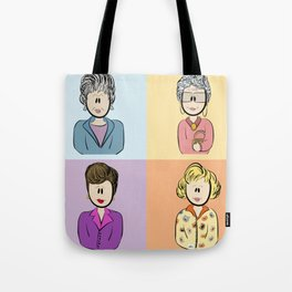 Golden Girls Character Combo Tote Bag