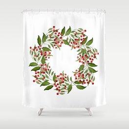 Wild Berry Shower Curtain
