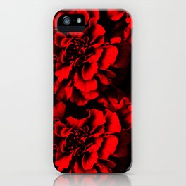 Defined Red iPhone Case