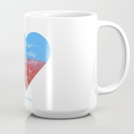 Love is Artistic Coffee Mug