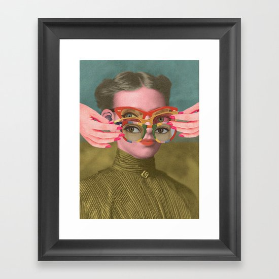 TRIFOCALS Framed Art Print
