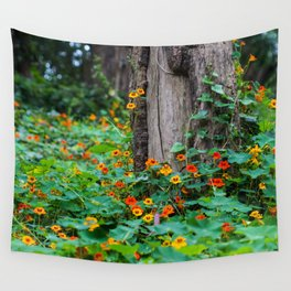 Stern Grove Flowers Wall Tapestry