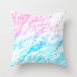 Wispy Silken Tufts Throw Pillow