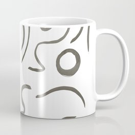 Stroke Abstract Coffee Mug