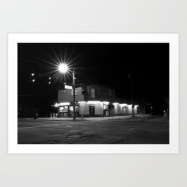 Midnight Sun - Midnight Bodegas Series Art Print
