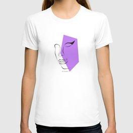 Winehouse Amy (3/3) - Iconic Portrait Vol 1 Art Print T-shirt