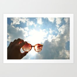 Shine Like the Sun Art Print