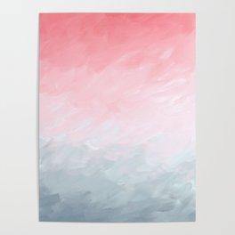 Blush Fade Poster