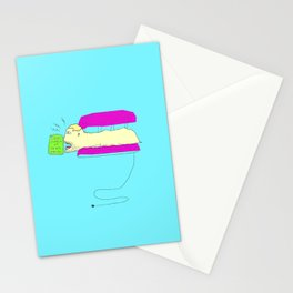 This Solarium is SEHR HEISS! Stationery Cards