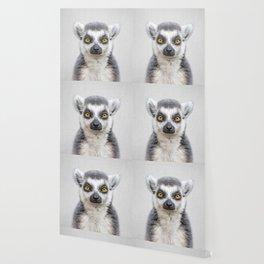 Lemur 2 - Colorful Wallpaper