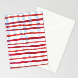 Plaid Stationery Cards