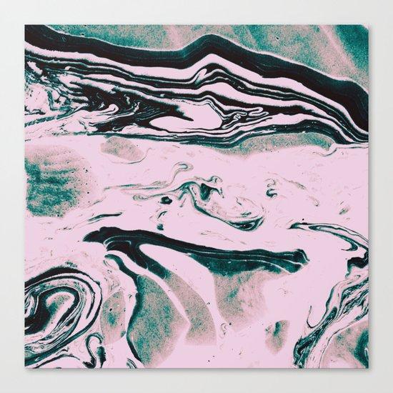 Spilled millk Canvas Print
