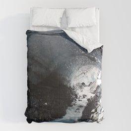 Glacier flow | landscape Comforters