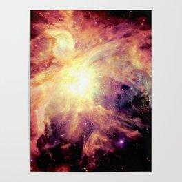 neBUla Colorful Warmth Poster
