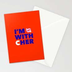 #I'mwithCher Logo #2 Stationery Cards