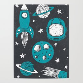Space Age Poster