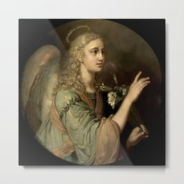 Archangel Gabriel, from the Annunciation to the Blessed Virgin Mary Metal Print