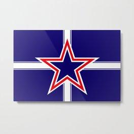 Southern Cross flag  Metal Print