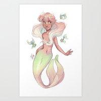 Libra Art Print