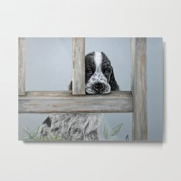 Puppy #3 Metal Print