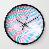 lolita Wall Clocks featuring Lolita by Allison Victoria Widmann