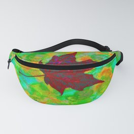 ABSTRACTED LEAF Fanny Pack