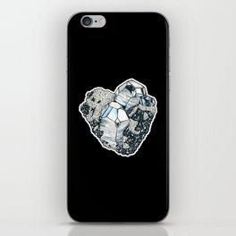 Hematite Crystal Cluster iPhone Skin