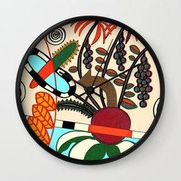 TROPICAL DESIGN Wall Clock