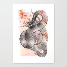 Glowing Corn Snake Canvas Print