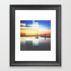 Fractions A79 Framed Art Print