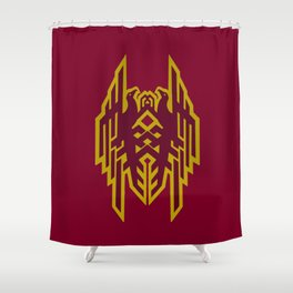 Hawke Amell Crest V2 Shower Curtain