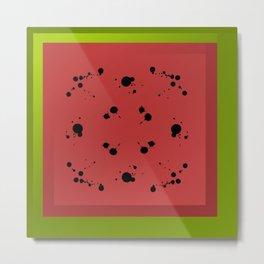 Watermelon is Sandía Metal Print