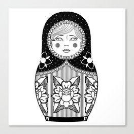 The Russian Doll Canvas Print