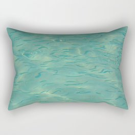 Swimming in the Clear Tropical Water Rectangular Pillow