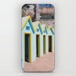 Bathhouses, Capri iPhone Skin