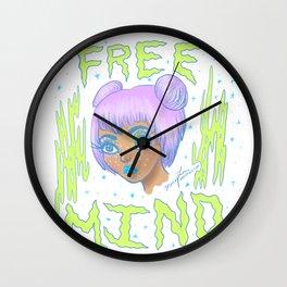 Free Mind Wall Clock