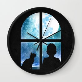 A Loyal Companion Wall Clock