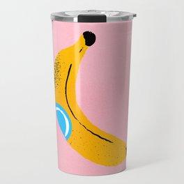 Banana Pop Art Travel Mug