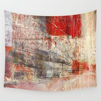 subway Wall Tapestries featuring Subway by Fernando Vieira