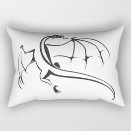 A simple flying dragon Rectangular Pillow