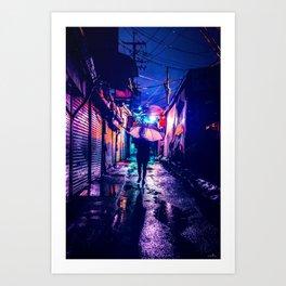 Colorful Seoul Art Print