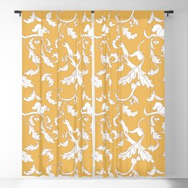 Squirrels and Acorns Pattern Blackout Curtain