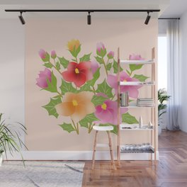 Bouquets Wall Mural