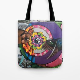 """A sweeter melody"" The fifth chakra Tote Bag"