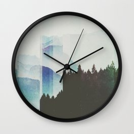 Fractions A58 Wall Clock