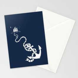 Our Anchor We Will Weigh Stationery Cards