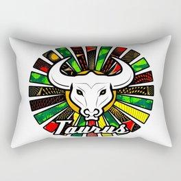 Taurus Rasta Sunrays Rectangular Pillow
