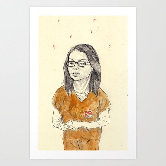 Alex Vause Art Print