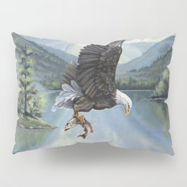 Eagle with Fish Pillow Sham