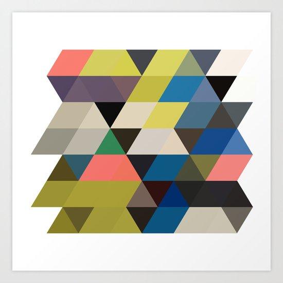color story - traverse  Art Print
